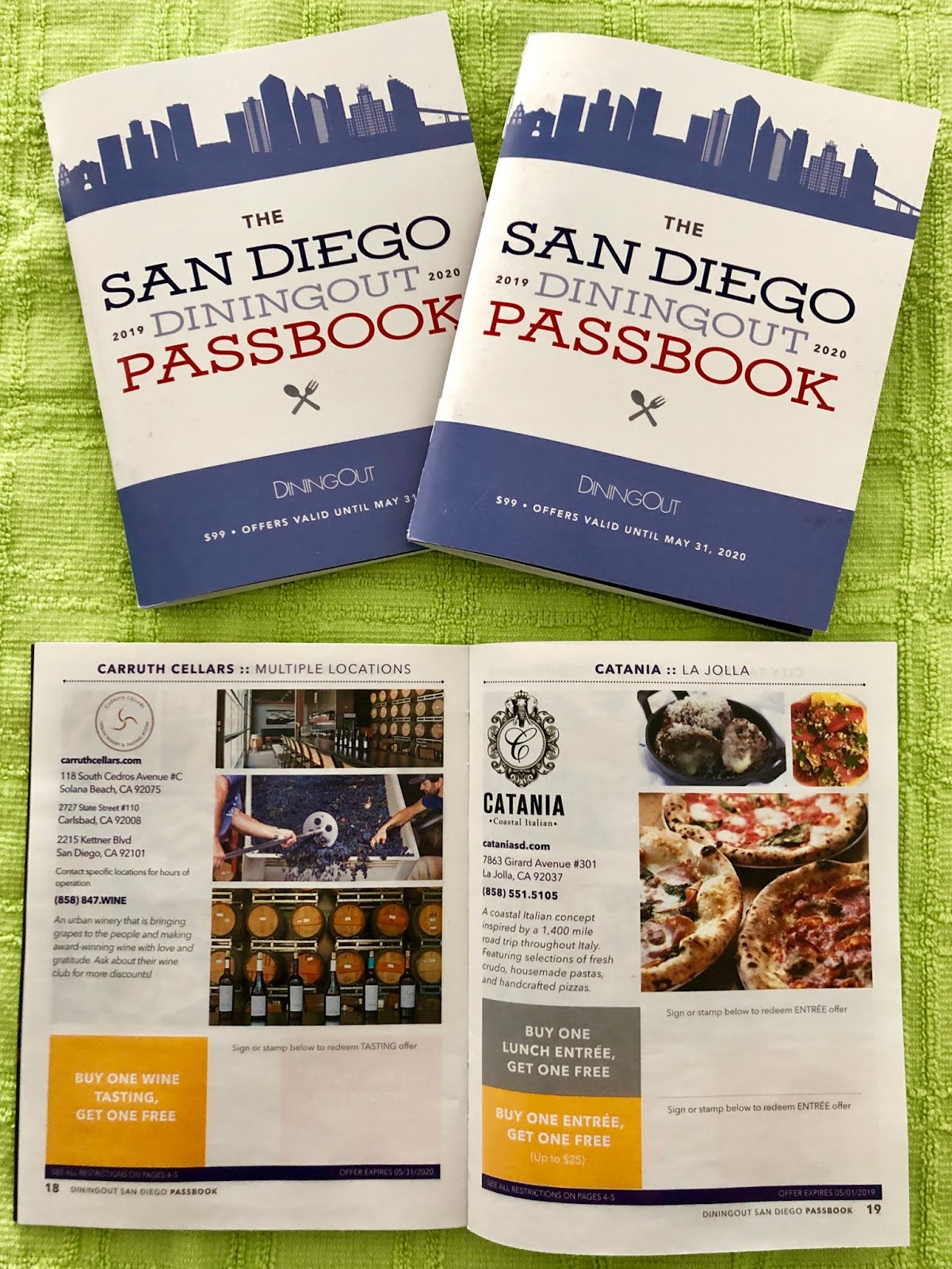 Sandiegoville Dining Out San Diego Magazine Launches Incredible Book Of 2 For 1 Deals For More Than 80 Of San Diego S Top Restaurants Get The San Diego Dining Out Passbook For Just 39