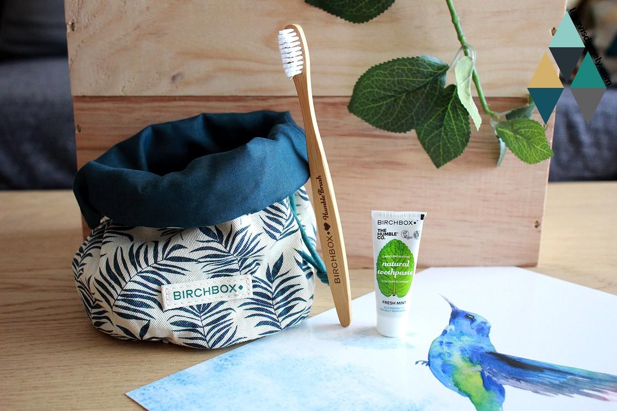 brosse à dents bambou naturel et dentifrice The Humble Co