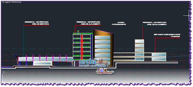 download-autocad-cad-dwg-file-university-residence-RESIDENCIA