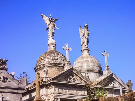 Vista del Cementerio de Buenos Aires