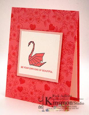 Artfully Folded Stamp Set, Stampin' Up!, Rick Adkins, #simplestamping