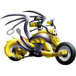 Appearance of Motorbike Dragon when adult