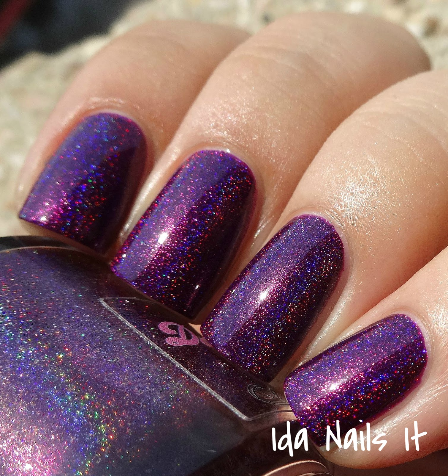 L B K Nail Lacquers Are Unique And Beautiful Giveaway: Ida Nails It: Darling Diva Polish Hug My Face Collection