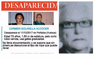 Desaparecida Peñalba