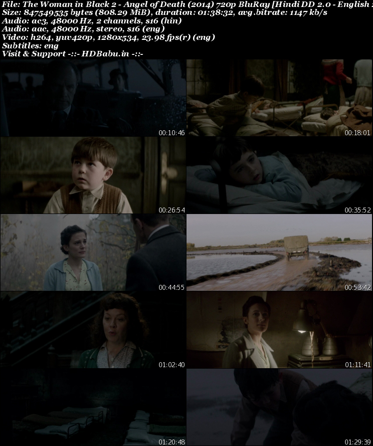 The Woman in Black 2 Dual Audio Full Movie Download