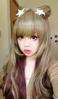 Resultado de imagem para berry tsukasa  makeup