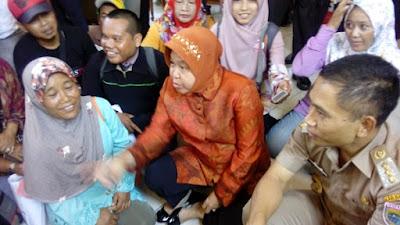 Popularitas Walikota Surabaya Rismawati kalahkan Menteri Desa Marwan Jafar, Ini Buktinya