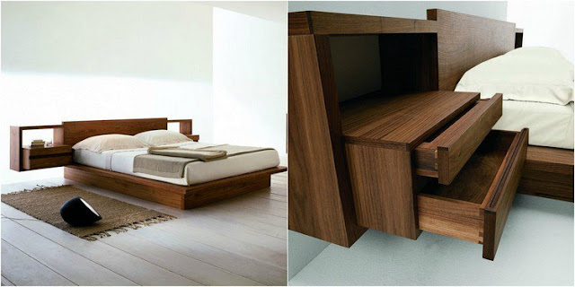 Solid wood Bedroom furniture for a quiet sleep