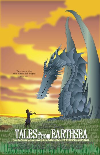 Gedo senki (Tales from Earthsea) (2010) ศึกเทพมังกรพิภพสมุทร (ซับไทย)