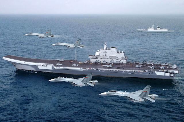 Kapal induk pertama China