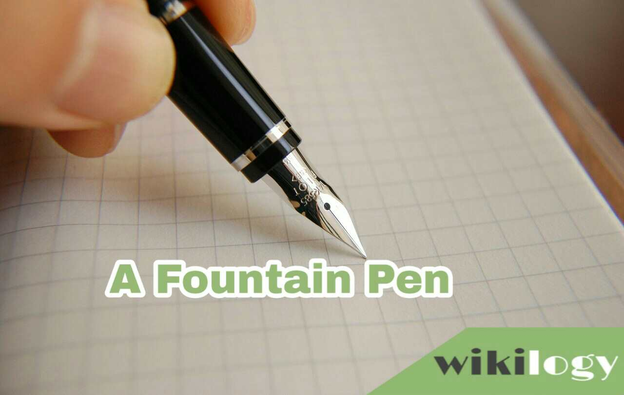 A Fountain Pen Paragraph