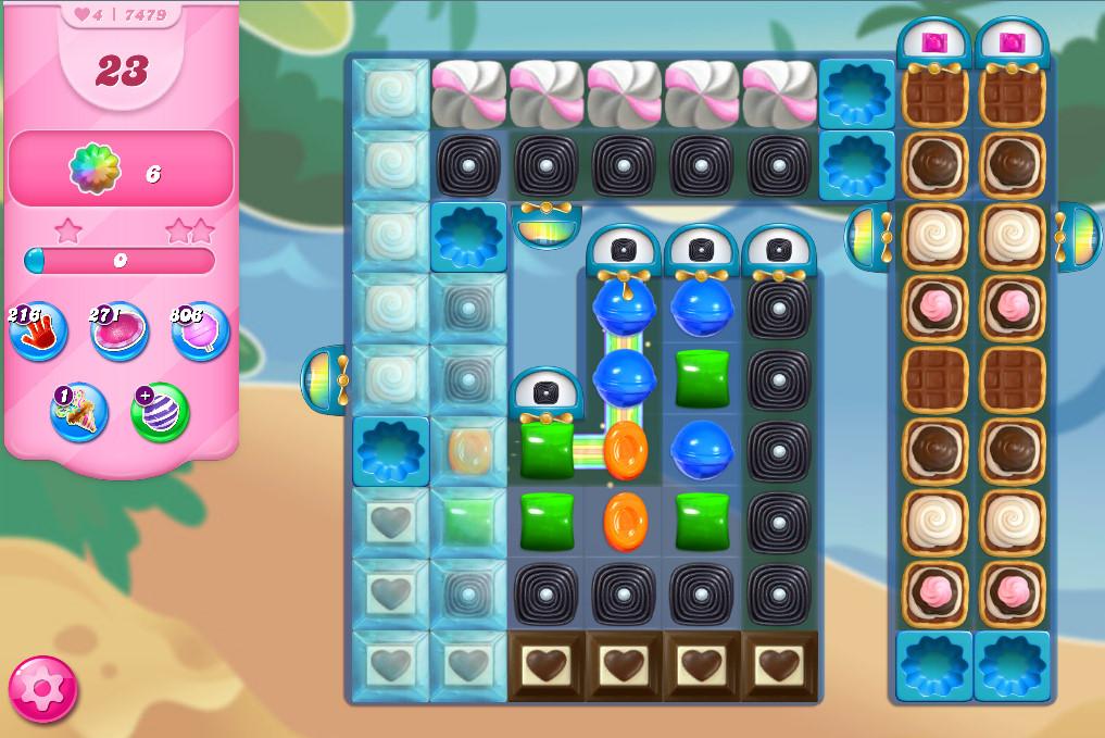 Candy Crush Saga level 7479