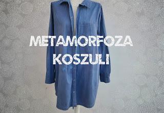 Metamorfoza koszuli | Barwnik do jeansu | Przyklejanie naszywki