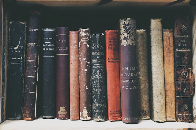 Antique Books (Reshot.com)