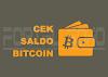 Cara Cek Saldo Bitcoin Tanpa Harus Login