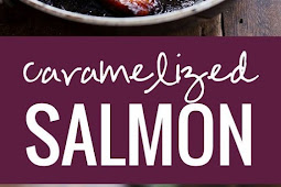 caramelized salmon