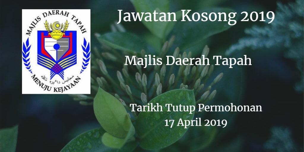 Jawatan Kosong MDT 17 April 2019