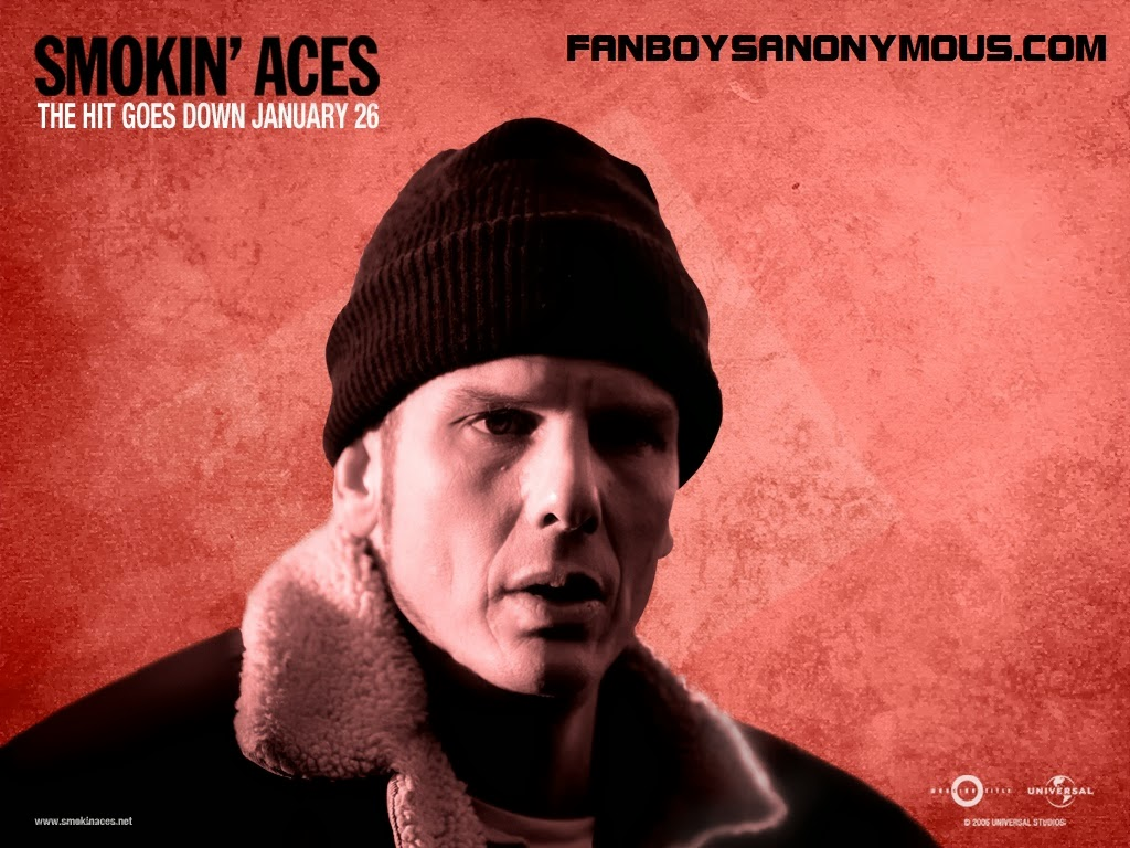 "Peter Berg as ""Pistol"" Pete Deeks in Smokin' Aces"