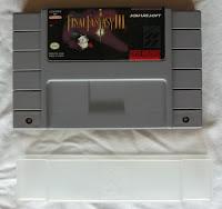 Final Fantasy VI - Cartucho + protector delante