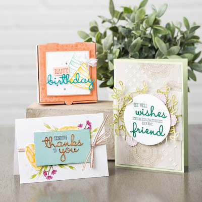Stampin' Up! Well Said Bundle ~ Well Written ~ 2019 Occasions Catalog ~ Card Ideas
