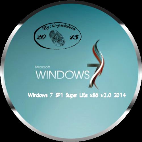 D-NariF: Microsoft Windows 7 SP1 Super Lite x86 v 2 0 680 MB