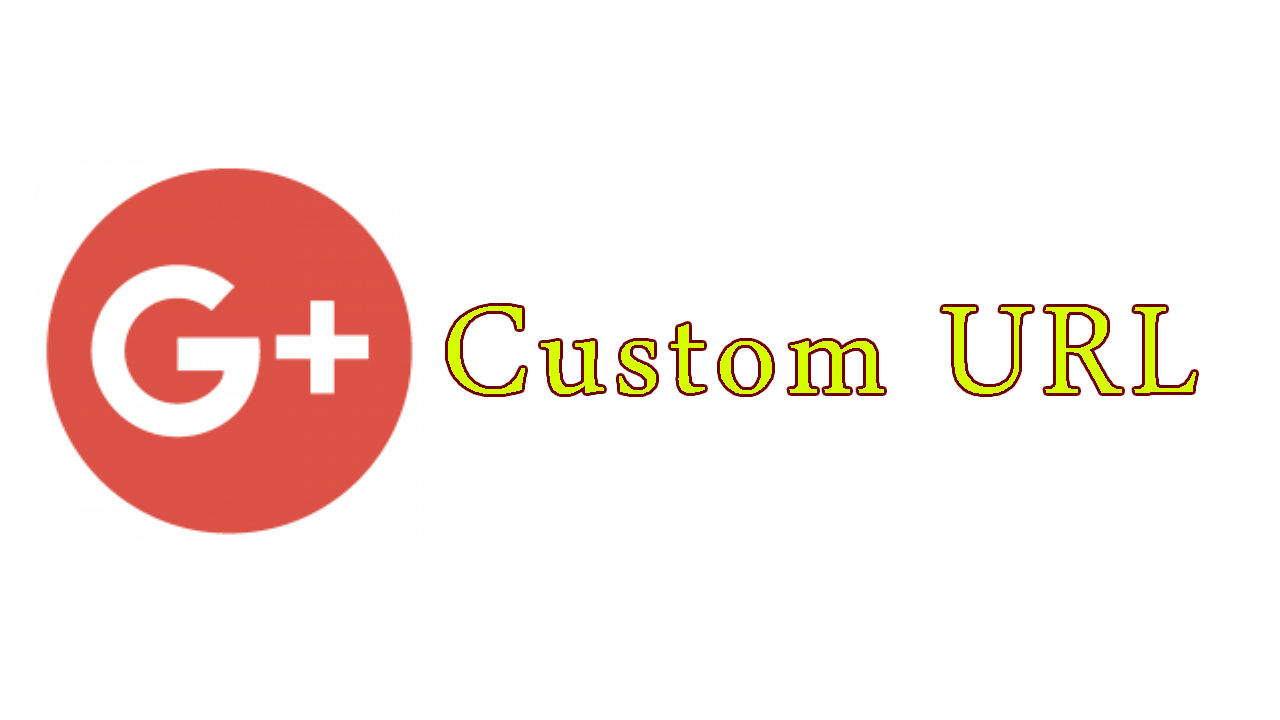 how to change url in google plus