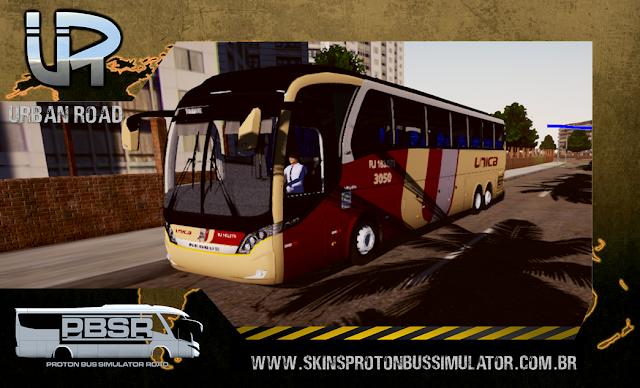 Skin Proton Bus Simulator Road - Neobus New Road 360 Volvo 6x2 B380R Unica Fácil