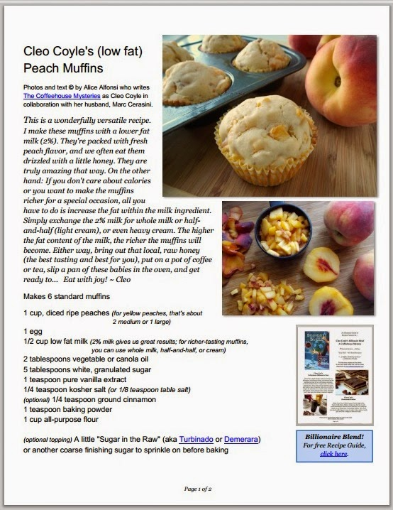 Mystery lovers kitchen low fat peach muffin recipe a billionaire this recipe in pdf form and forumfinder Choice Image