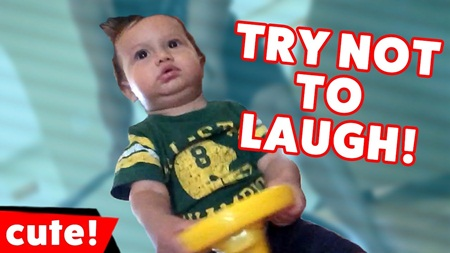 Try Not To Laugh At These Funniest Kid Videos of 2016 Compilation