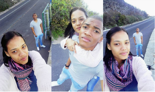 Ajax Cape Town goalkeeper, Jody February Shows Off His Girlfriend