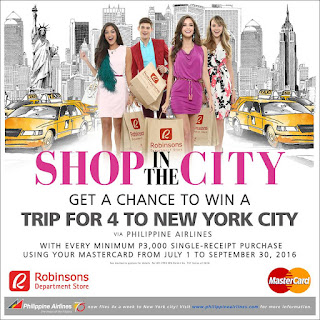 Robinsons Department Store promo, contest, Philippines contest