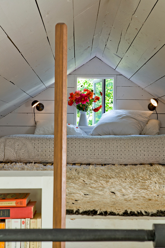 cottage loft bedroom