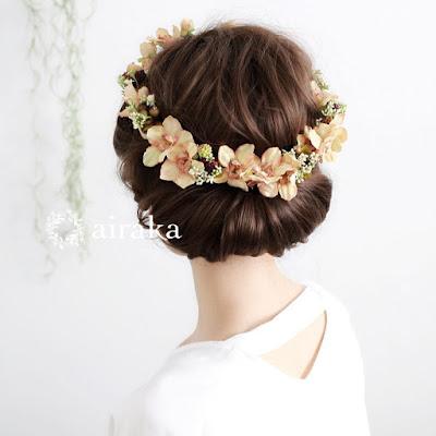 アンティークデルフィニウムの花冠_airaka