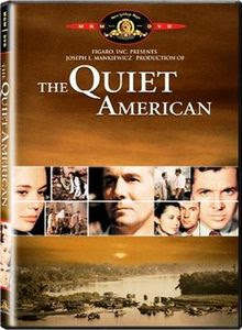 The Quiet American 1958 movieloversreviews.filminspector.com DVD cover