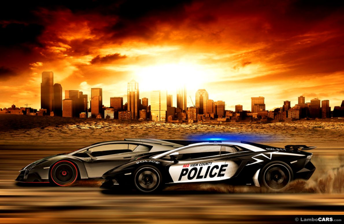 Lamborghini Police Car Wallpaper Wallpapers Sheet