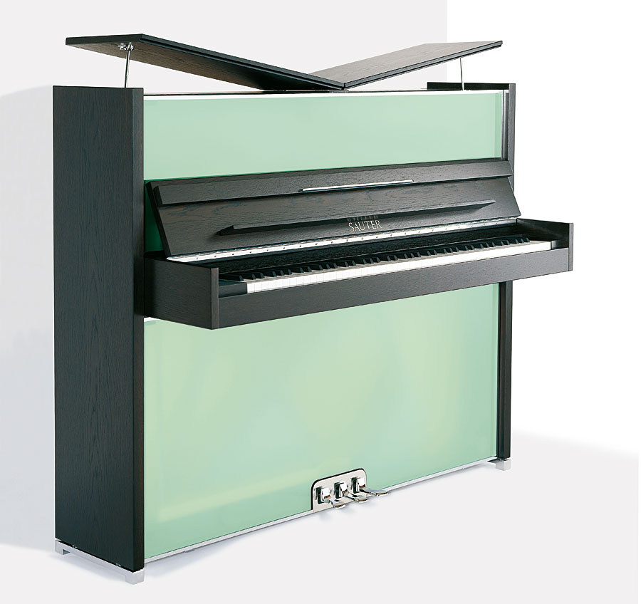 Magnificent Modern Pianos By Designer Peter Maly For Sauter
