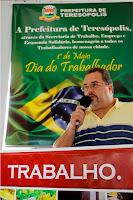 Prefeitura de Teresópolis realiza evento em comemoração ao Dia do Trabalhador