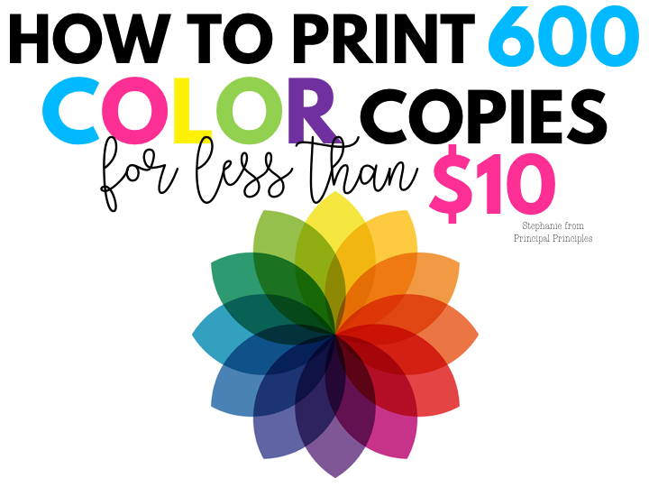 How To Print 600 Color Copies For Less Than 10