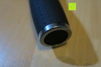 Griff: Golf Regenschirm, Pomelo Best Automatik auf Windresistent mit 128cm Durchmesser aus robusten 190T Pongee Stockschirm geeignet für 3-4 Personen