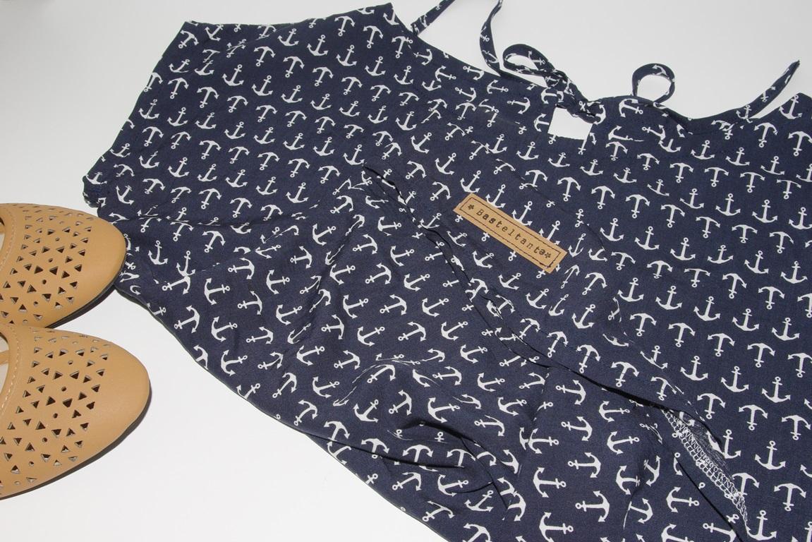 Kimono Tee MariaDenmark aus Webware (Viscose) mit Keyhole - Ein Nähblog