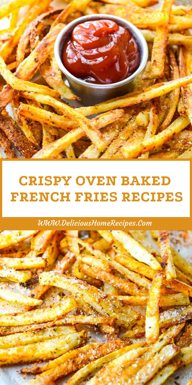 Crispy Oven Baked French Fries Recipes