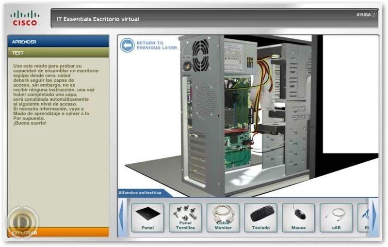 Simulador de ensamblaje pc profesional 3d en espa ol for Simulador de casas 3d gratis