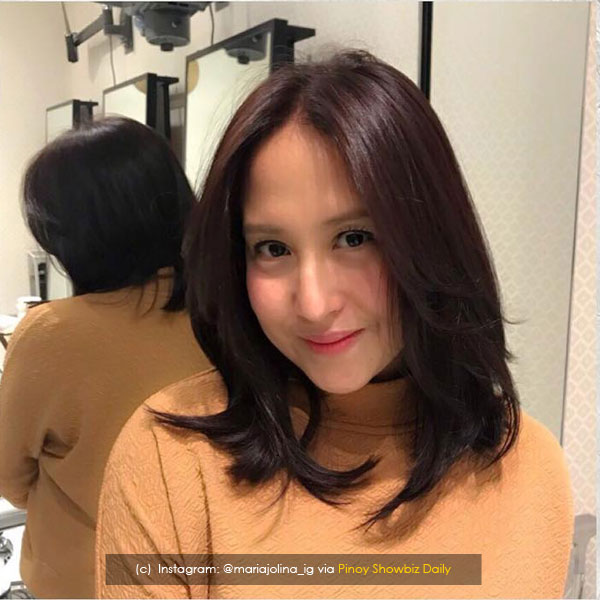 Jolina Magdangal sports new hairstyle; prepares for second pregnancy