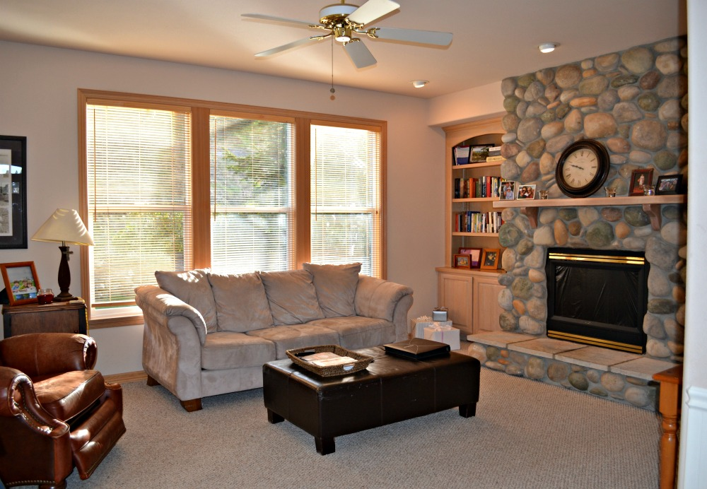 Updating a 90's Living Room in a Model Home - Rachel Teodoro on 90 Room  id=81934
