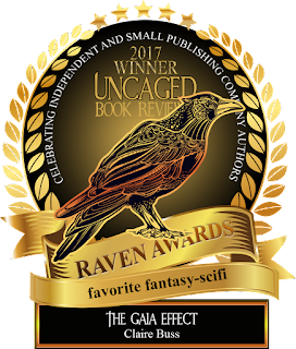 Raven Award Fav Fantasy-Scifi The Gaia Effect