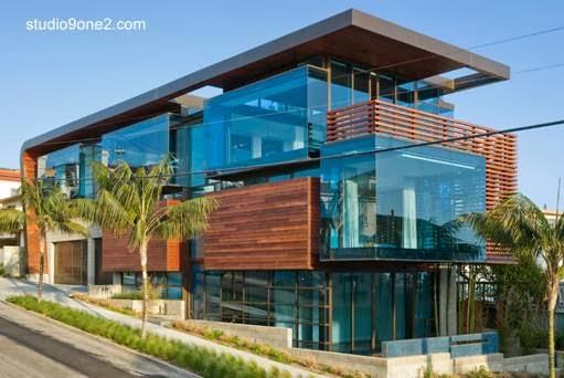 Casa residencial lujosa estilo Contemporáneo en California