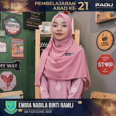 Guru Adiwira PAK21: Cikgu Emira Nabila binti Ramli [SMK Pasir Gudang, Johor]