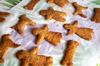 ricetta halloween gingerbread vegan