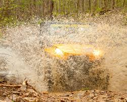 Mud-flying 4-wheeling in the Smokies