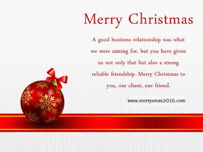 christmas xmas messages clients customers